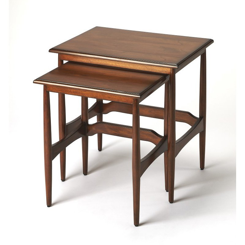 Butler Specialty Bryant Mid-Century Modern Nesting Tables (3749101)