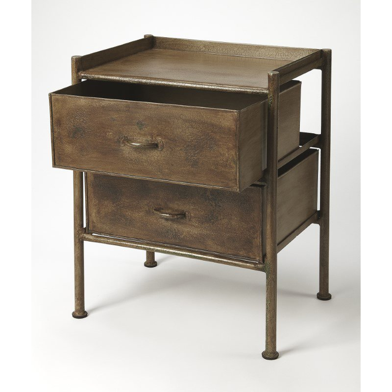 Butler Specialty Cameron Industrial Chic Side Table (5319330)