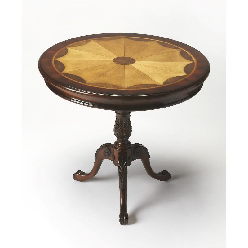 Butler Specialty Carissa Plantation Cherry Round Pedestal Table