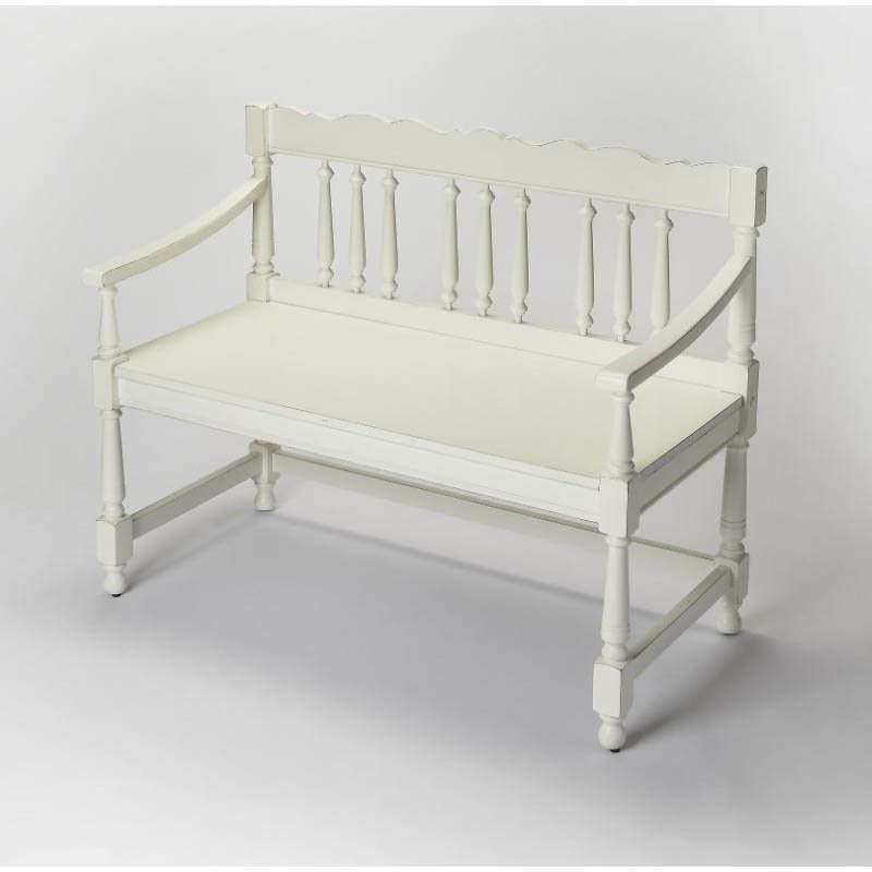 Butler Specialty Cather Cottage White Bench