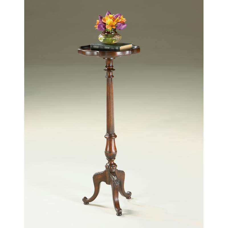 Butler Specialty Chatsworth Plantation Cherry Pedestal Plant Stand