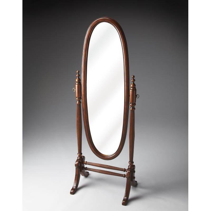 Butler Specialty Cheval Mirror in Plantation Cherry