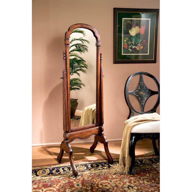 Butler Specialty Cheval Mirror in Plantation Cherry Finish