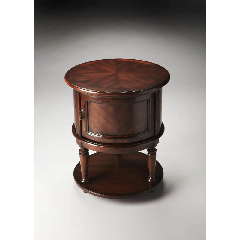 Butler Specialty Coffield Plantation Cherry Drum Table