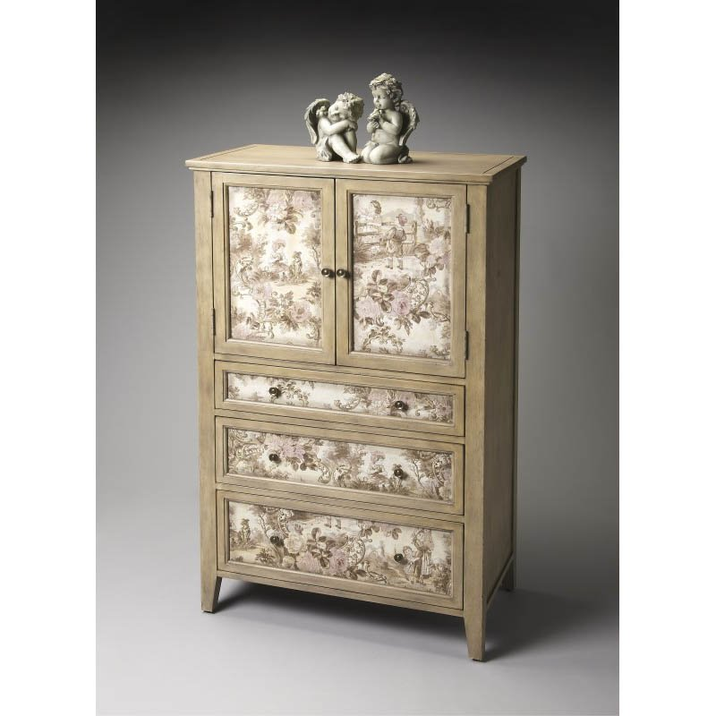 Butler Specialty Connoisseurs Tall Door Accent Chest