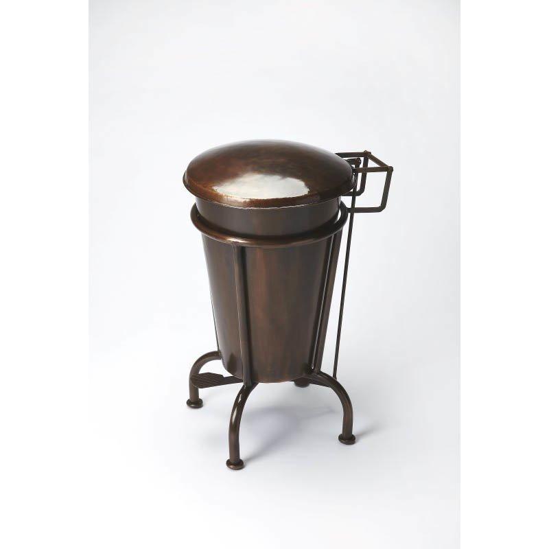 Butler Specialty Copper Dust Bin