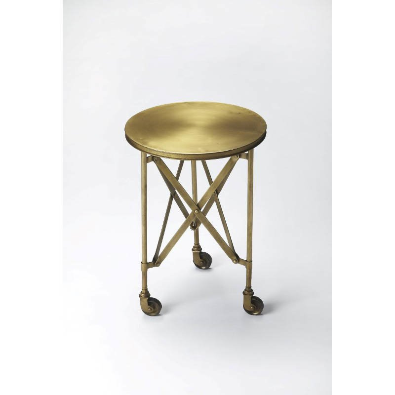 Butler Specialty Costigan Antique Gold Accent Table