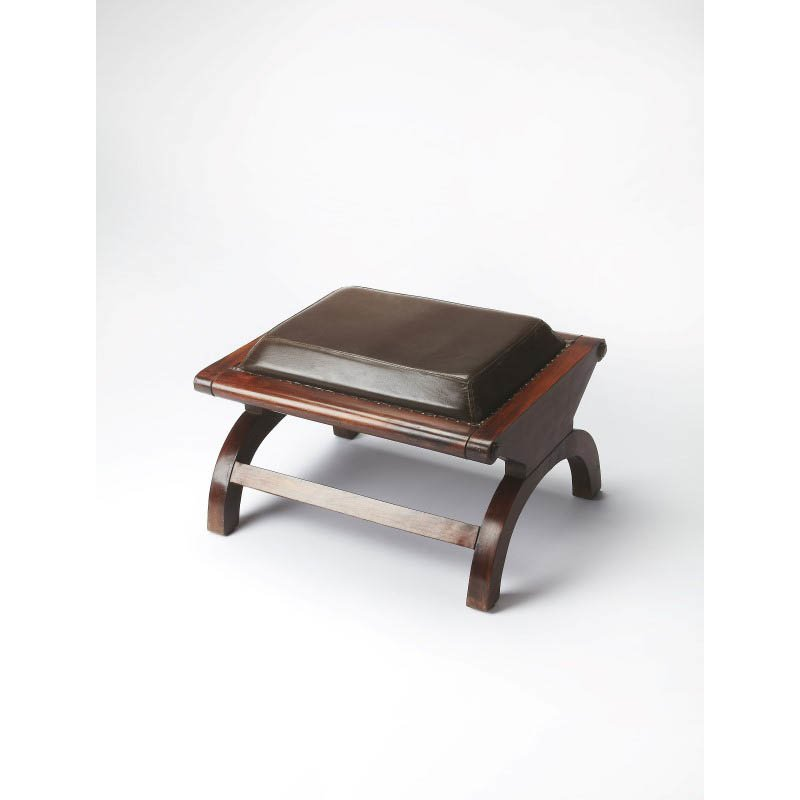 Butler Specialty Cottage Leather Stool