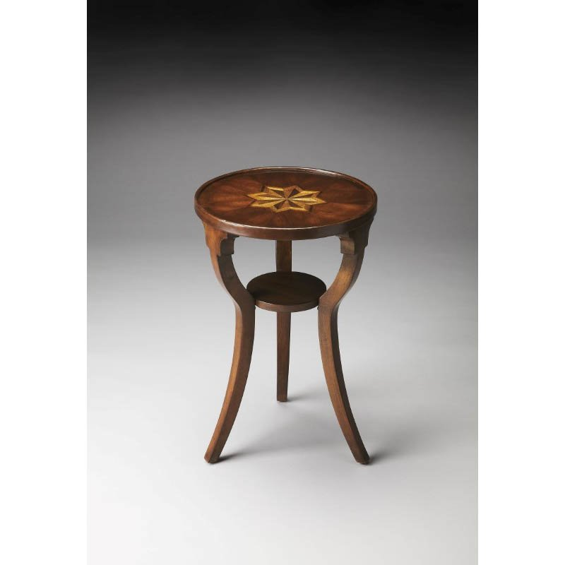 Butler Specialty Dalton Plantation Cherry Round Accent Table