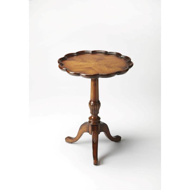 Butler Specialty Dansby Vintage Oak Pedestal Table