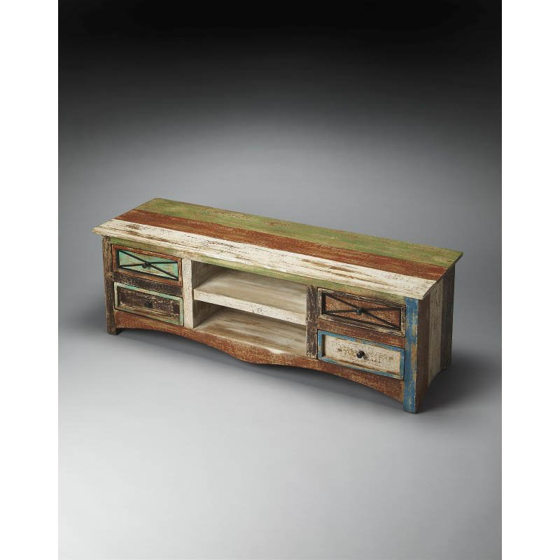 Butler Specialty Decatur Recycled Wood Entertainment Console