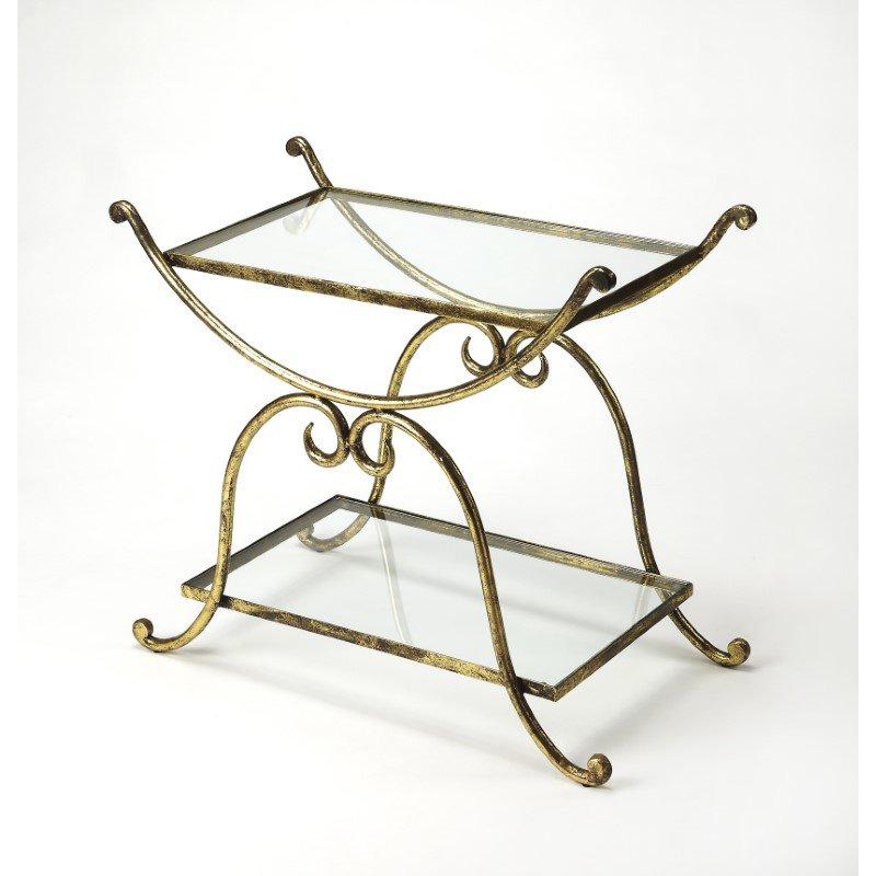 Butler Specialty Desdemona Gold Serving Table (3904025)