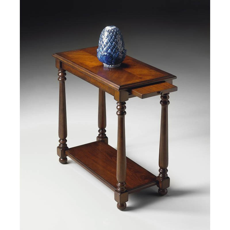Butler Specialty Devane Plantation Cherry Chairside Table