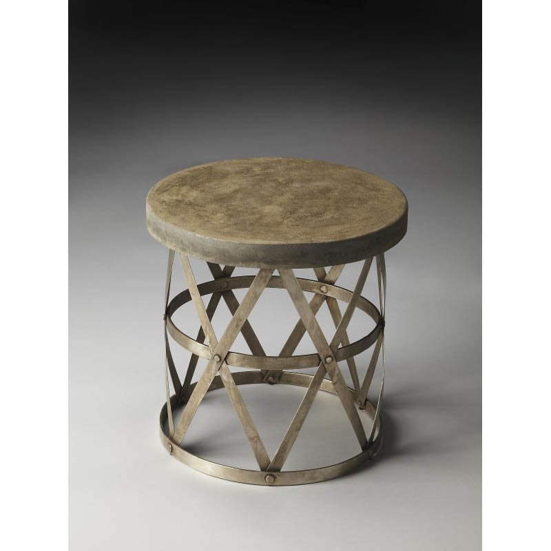 Butler Specialty Dobson Industrial Chic Side Table