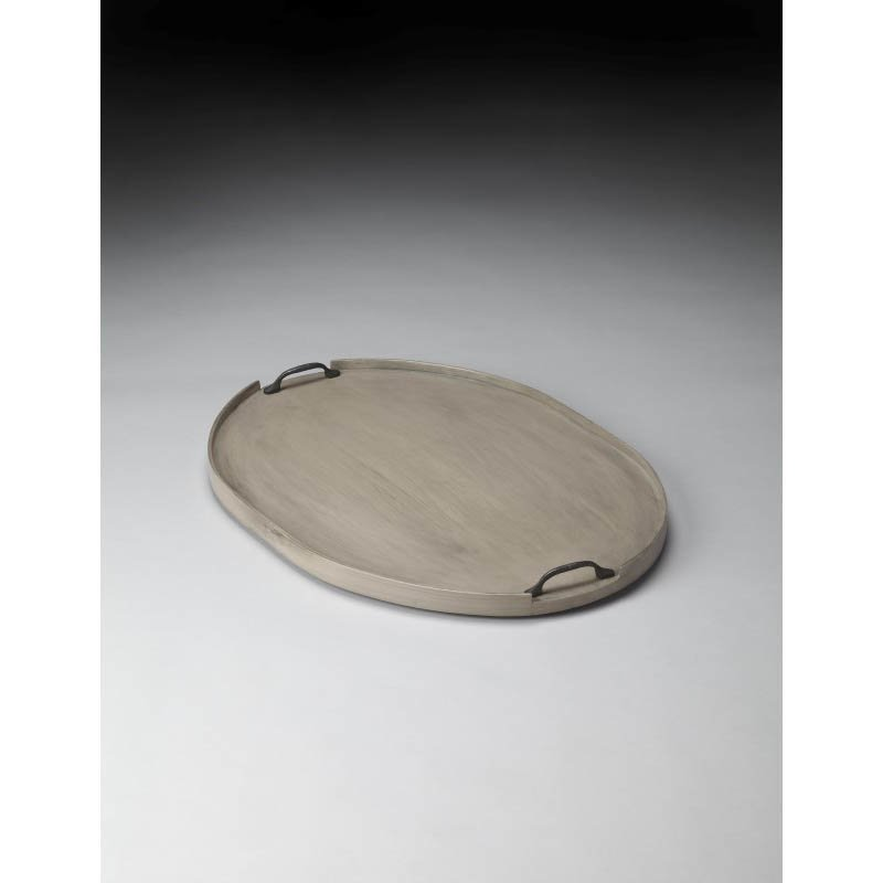 Butler Specialty Dubois Gray Serving Tray