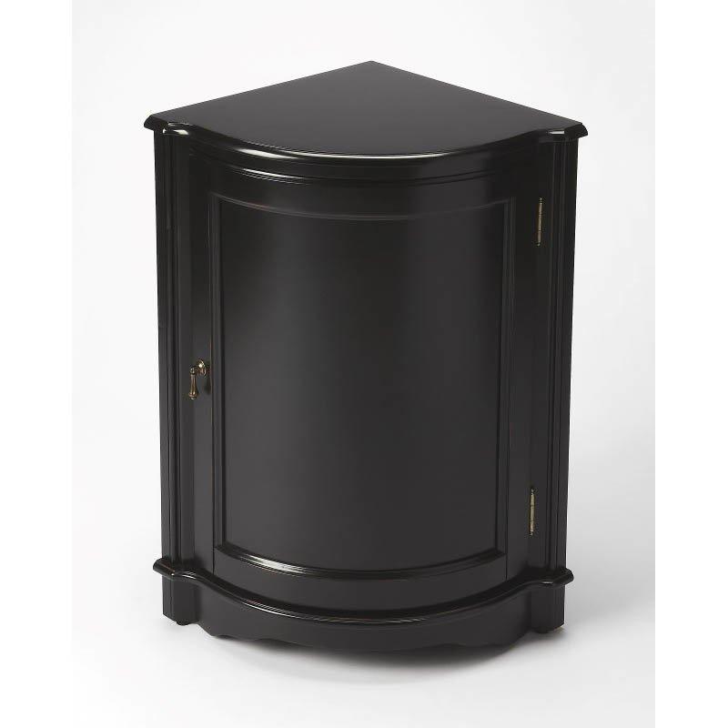 Butler Specialty Durham Black Licorice Corner Table