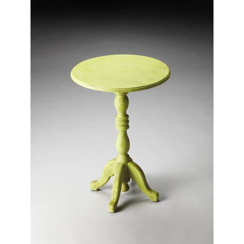 Butler Specialty Duxbury Green Reclaimed Wood Pedestal Table