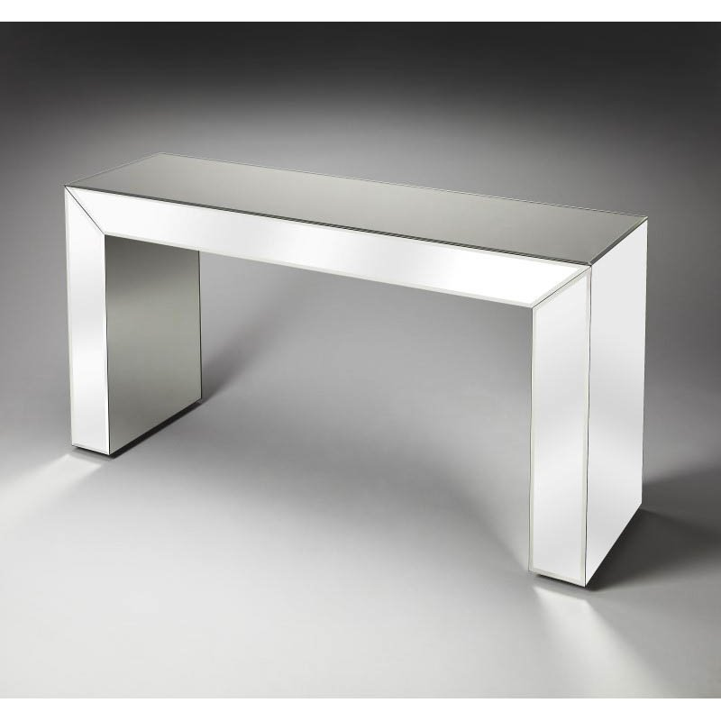 Butler Specialty Emerson Mirrored Console Table