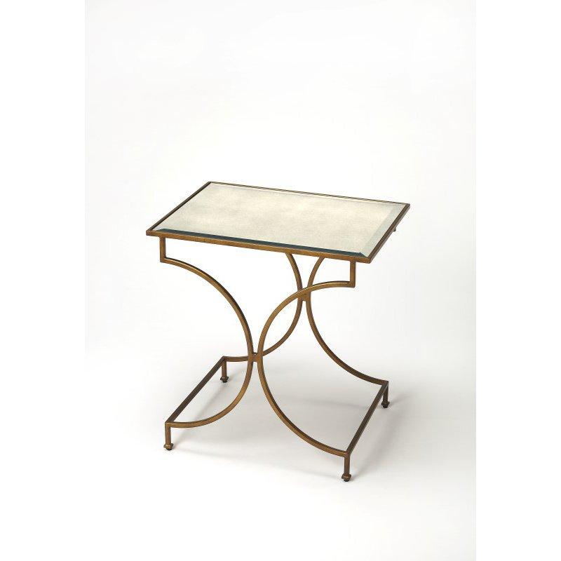 Butler Specialty Esperanza Antique Gold End Table (3634226)