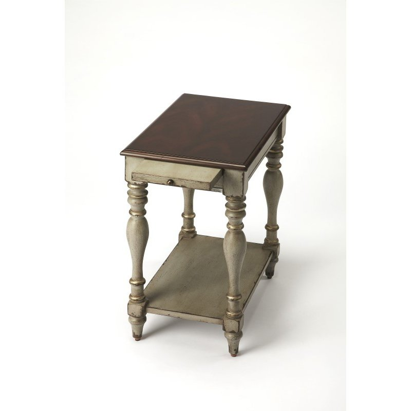 Butler Specialty Fabia Antique Gray Chairside Table (3518359)