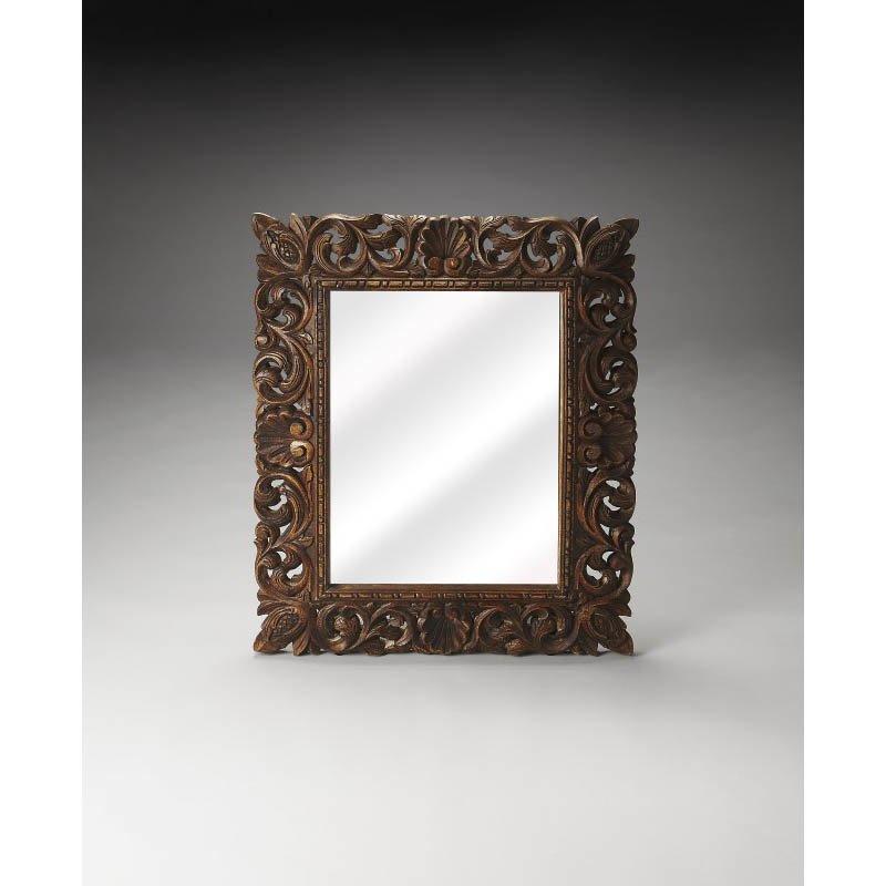 Butler Specialty Ferdinand Reclaimed Wood Wall Mirror