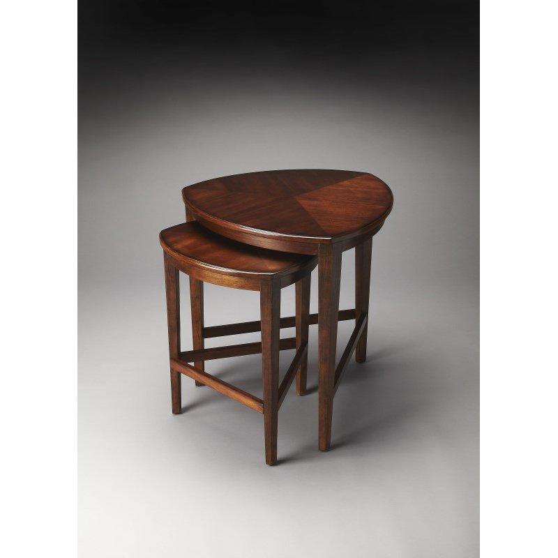 Butler Specialty Finnegan Antique Cherry Nesting Tables (7010011)