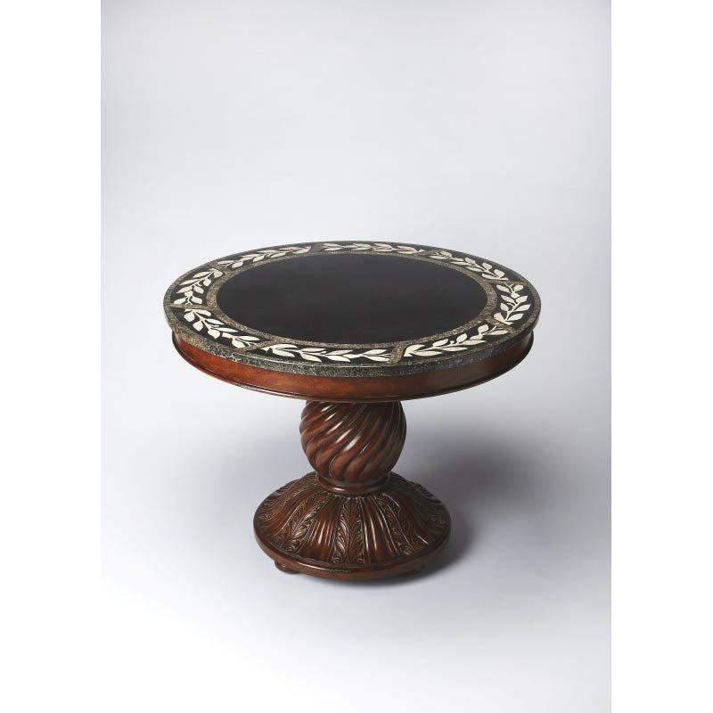 Butler Specialty Fossil Stone Foyer Table