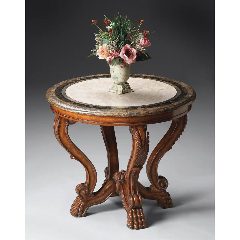 Butler Specialty Foyer Table in Heritage Finish