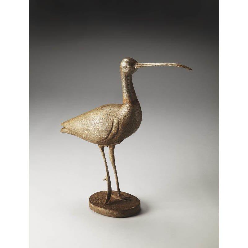 Butler Specialty Great Egret Carved Wood Figurine