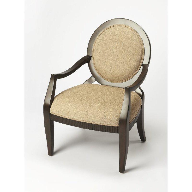 Butler Specialty Gretchen Merlot Accent Chair (9515996)