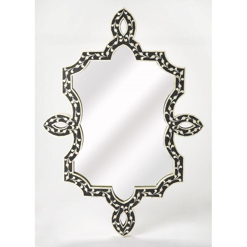 Butler Specialty Haifa Black Bone Inlay Wall Mirror (3484318)