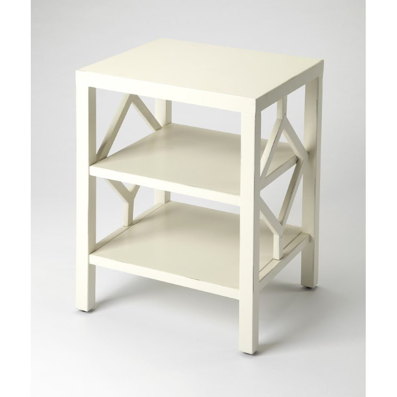Butler Specialty Halcyon White End Table (3954288)
