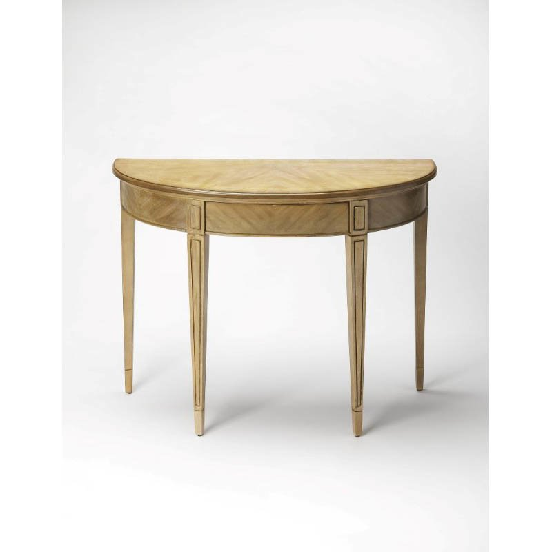 Butler Specialty Hampton Driftwood Demilune Console Table