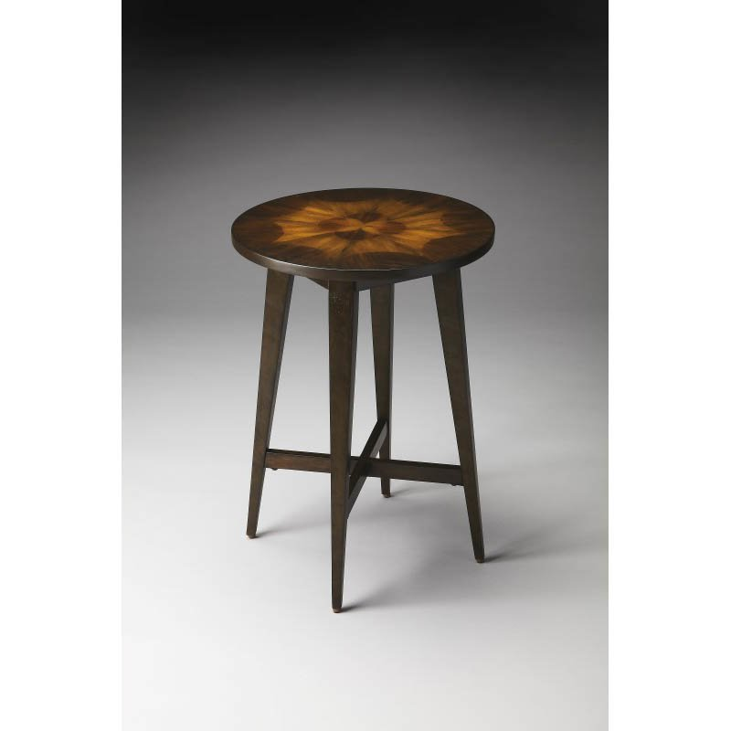 Butler Specialty Heritage Accent Table in Dark Brown