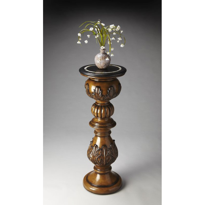 Butler Specialty Heritage Fossil Stone Pedestal (2357070)