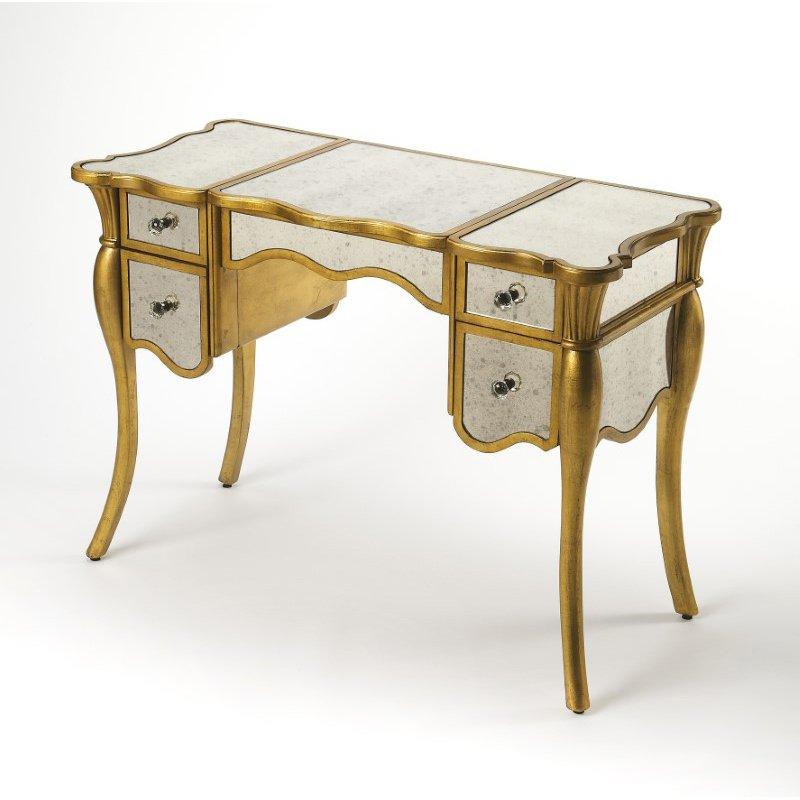 Butler Specialty Isabella Gold Leaf Vanity (9200332)