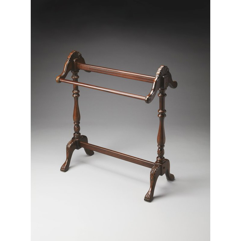 Butler Specialty Joanna Plantation Cherry Blanket Stand (0991024)