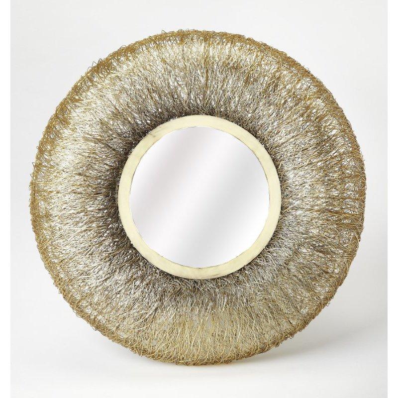 Butler Specialty Karyn Gold Metal Wall Mirror (4422400)