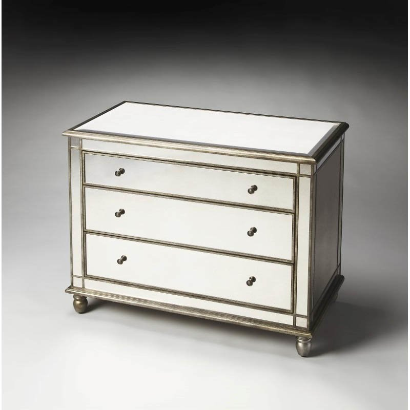 Butler Specialty Laflin Mirrored Console Chest