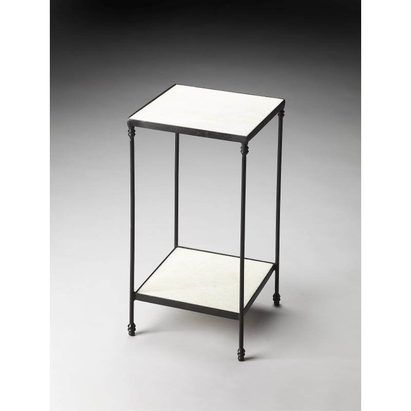 Butler Specialty Larkin Marble & Iron Accent Table