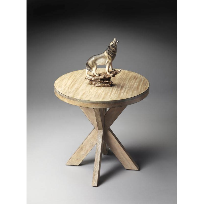 Butler Specialty Loft Accent Table in Driftwood