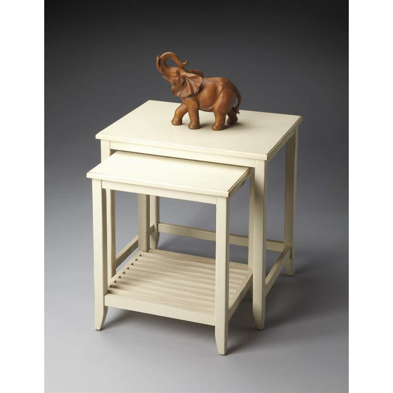 Butler Specialty Loft Nesting Tables in Cottage White