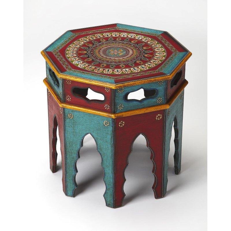 Butler Specialty Malay Hand Painted End Table (3833290)