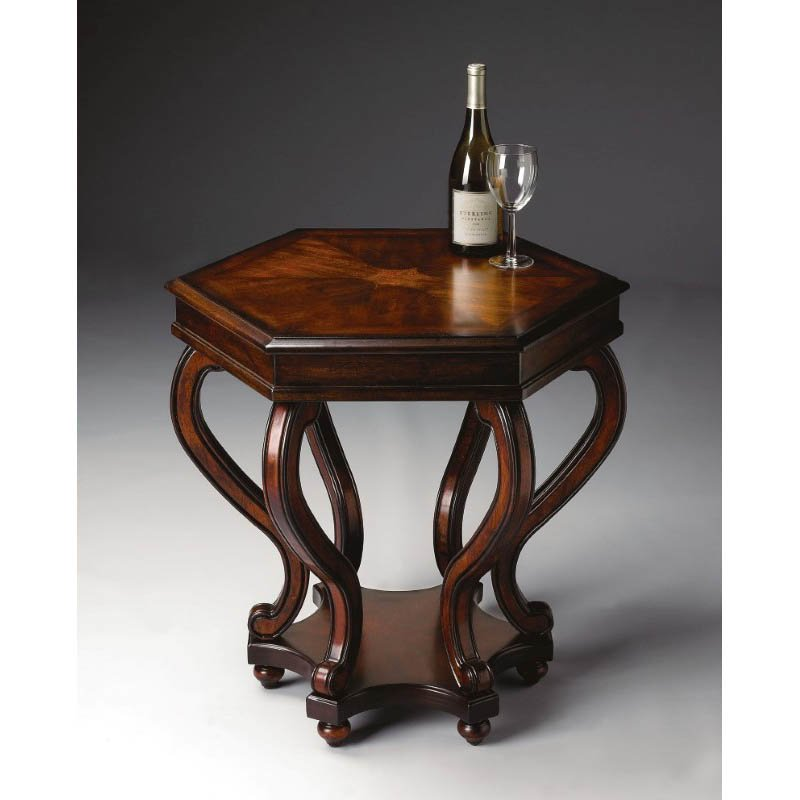 Butler Specialty Margaret Plantation Cherry Accent Table