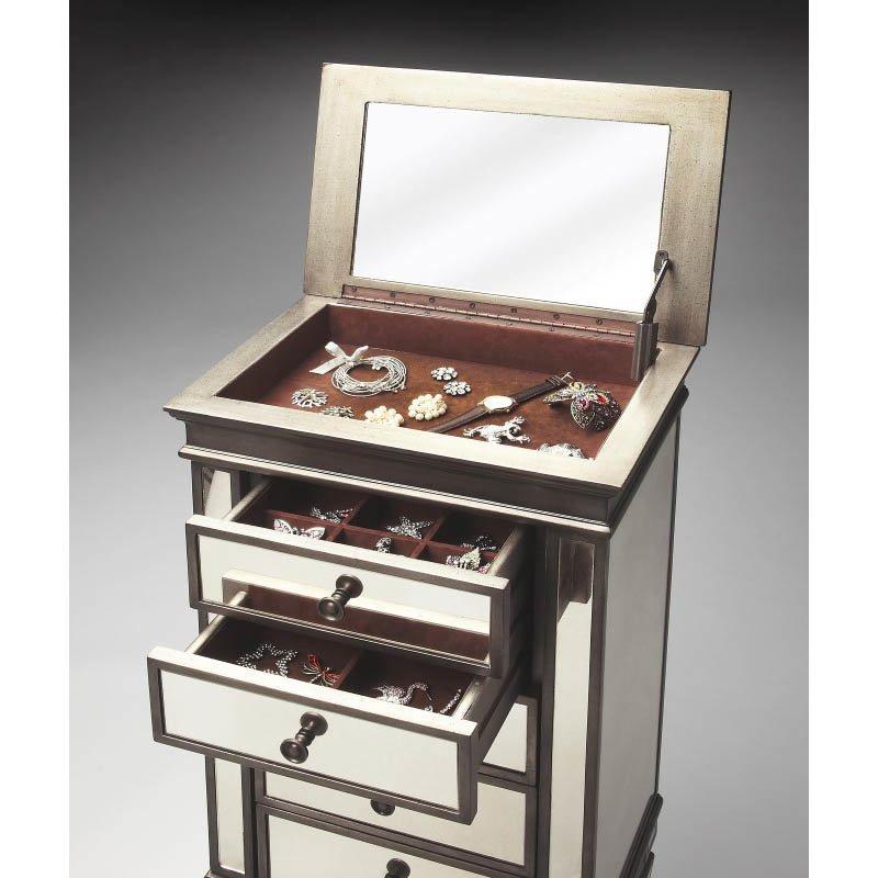 Butler Specialty Masterpiece Jewelry Chest in Mirror