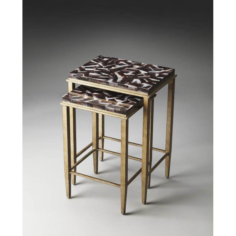 Butler Specialty Mateo Transitional Nesting Tables