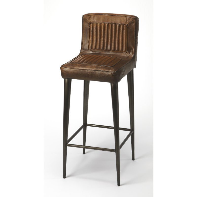 Butler Specialty Maxwell Leather Bar Stool (4347344)