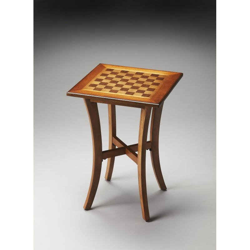 Butler Specialty Maxwell Olive Ash Burl Game Table