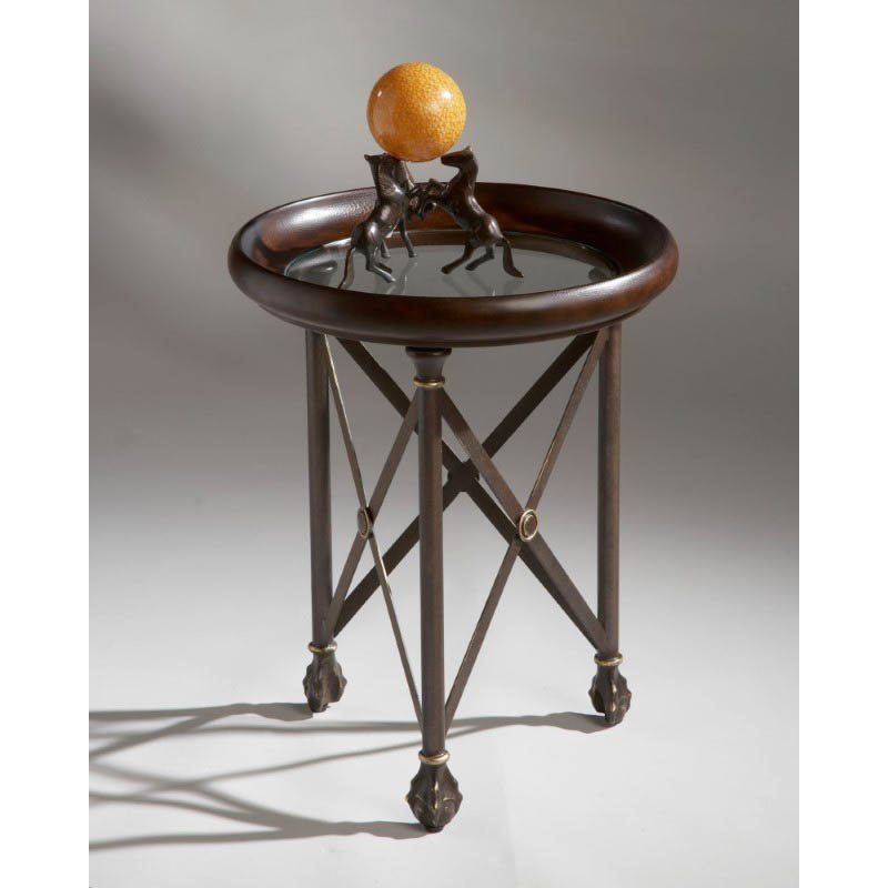 Butler Specialty Metalworks Accent Table in Finished Metal