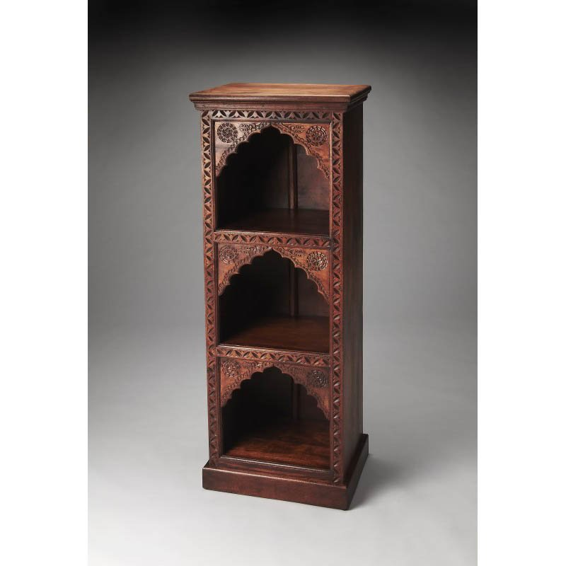 Butler Specialty Mihrab Solid Wood Bookcase